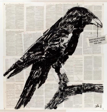 William Kentridge, Return to the Particular Moment (2013), via Marian Goodman