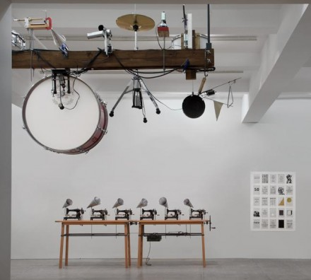 William Kentridge, Untitled (Drum Machine) (2012), via Marian Goodman