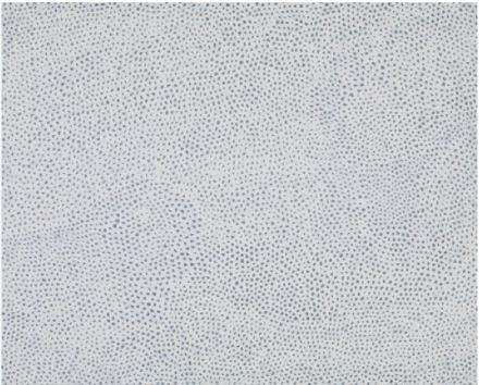 Yayoi Kusama, INFINITY NETS [CCT] (2013), via Victoria Miro