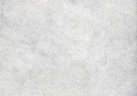 Yayoi Kusama, Infinity Nets (T.W.A.) (2000), via Christie's