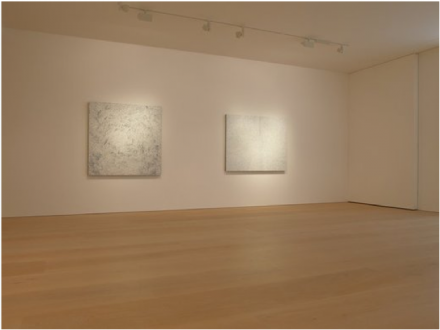 Yayoi Kusama, White Infinity Nets (Installation View), via Victoria Miro
