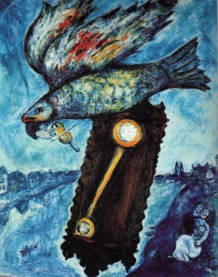 Marc Chagall, Time is a River without Banks (1930-39), via The Jewish Museum