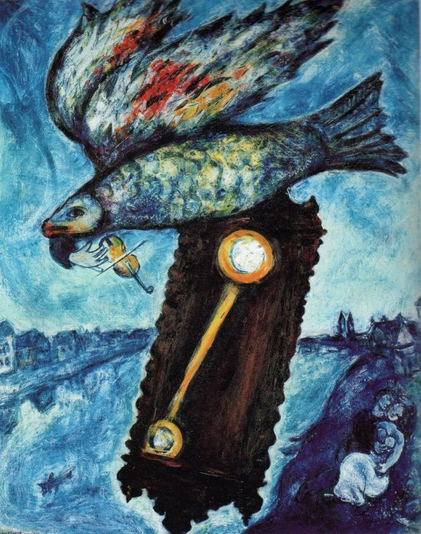 Marc Chagall Time Is A River Without Banks 1930 39 Via