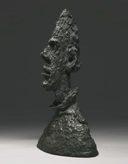 Alberto Giacometti, Grande Tête Mince (Grande Tête De Diego) (1955), via Sotheby's