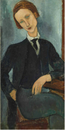 Amedeo Modigliani, Monsieur Baranowski (1918), Via Christie's