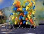 An Olaf Breuning Smoke Grid, via Zentrum Paul Klee