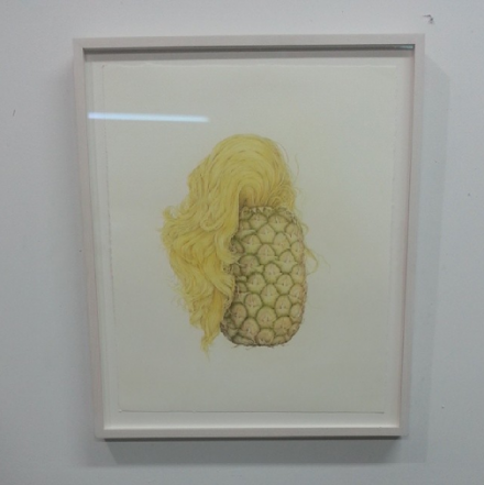 Aurel Schmidt, Fruits (2013), via Art Observed Staff