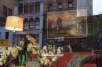 Banksy at Housing Works, via New York Times