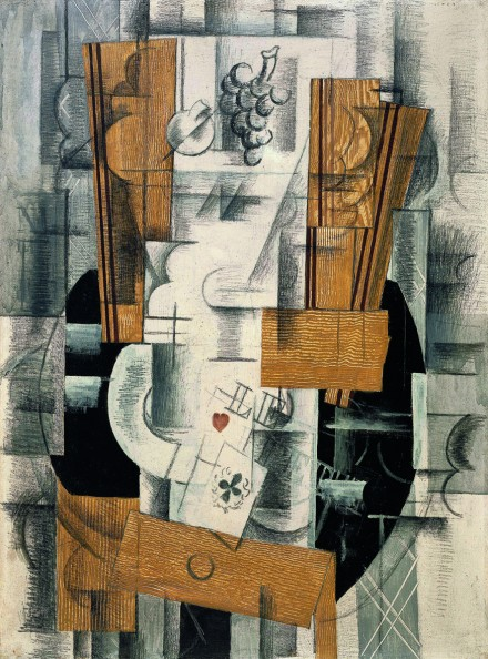 Georges Braque, Compotier et Cartes (1918), Courtesy Grand Palais