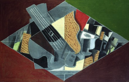 Georges Braque, Guitare et Verre (1917), Courtesy Grand Palais