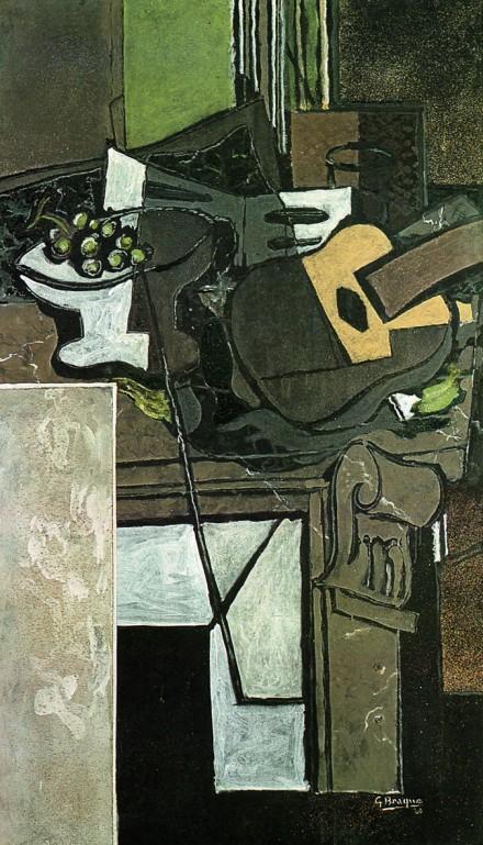 Georges Braque, La Cheminée (1928), Courtesy Grand Palais
