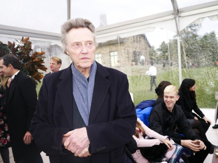 Christopher Walken, via Art Observed Staff