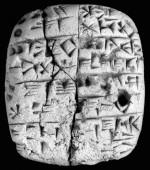 Ancient tablet, via LA Times