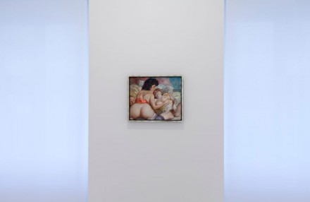 John Currin, (Installation View), Courtesy Gagosian Gallery