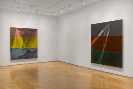 David Salle, Ghost Paintings (Installation view), © David Salle, VAGA, NY. Courtesy, Skarstedt New York