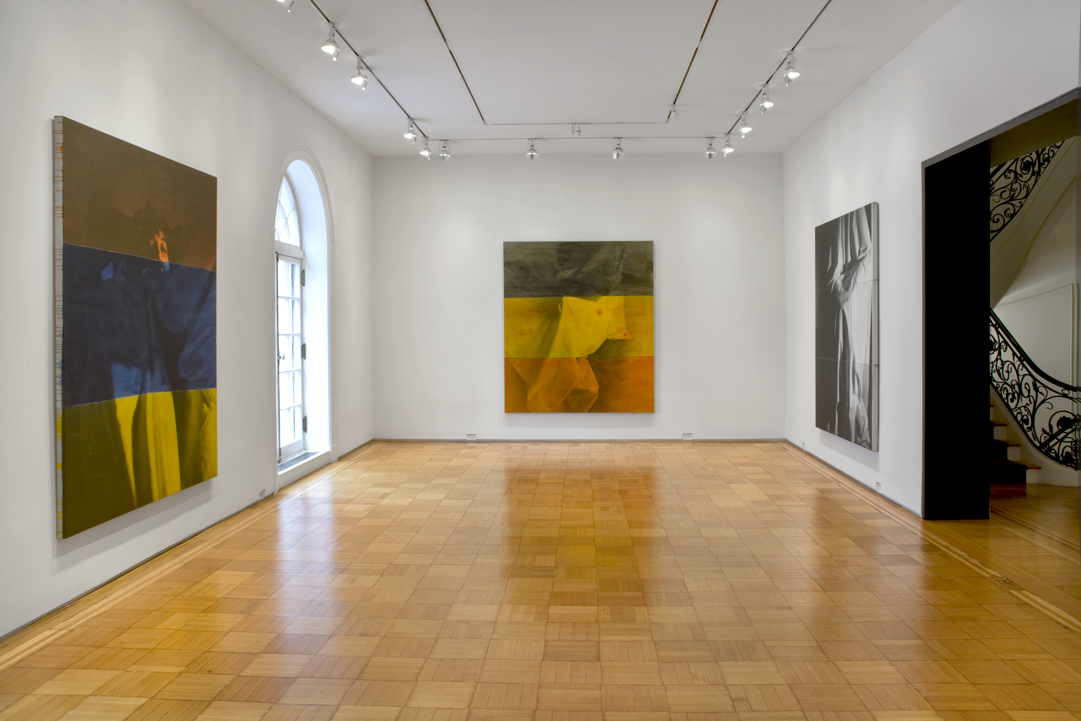 David Salle, Ghost Paintings (Installation view), © David Salle, VAGA,