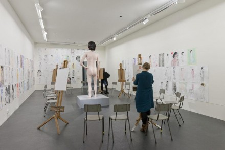 David Shrigley, Life Model (2012), via Turner Prize