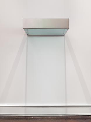 Donald Judd, Untitled (DSS 154) (1968), via Mnuchin Gallery
