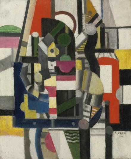 Fernand Léger, Élément Méchanique (1920), via Sotheby's