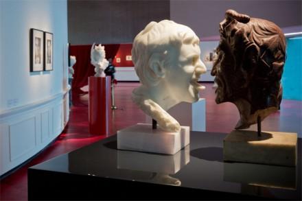 Francesco Vezzoli, Galleria Vezzoli (Installation View), via MAXXI