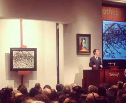 Giacomo Balla sells at Sotheby's, via Aubrey Roemer for Art Observed