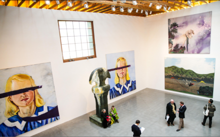 Installation View, Julian Schnabel, at the Brant Foundation Art Study Center, via David X Prutting / BFAnyc.com