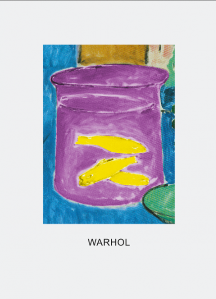 John Baldessari, Double Vision Warhol (Violet and Yellow) (2011), Courtesy of the artist © John Baldessari