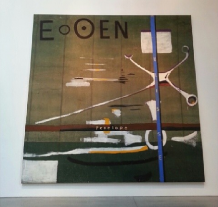 Julian Schnabel, E o OEN (1988), via Art Observed Staff