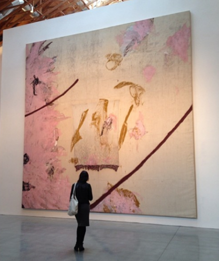 Julian Schnabel, El Espontaneo (For Abelardo Martinez), via Art Observed Staff