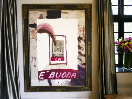 Julian Schnabel, untitled (Banana e'Buona) (1988), via Art Observed Staff