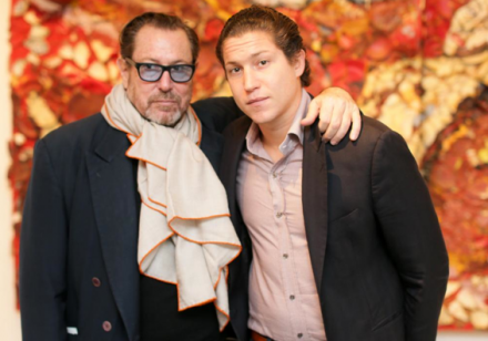 Julian and Vito Schnabel at the Brant Foundation Art Study Center, via David X Prutting  BFAnyc.com