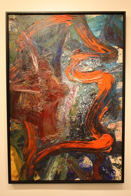 Kazuo Shiraga, Keishizoku (1961), via Ben Richards for Art Observed