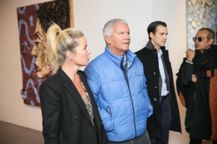 Larry Gagosian, at the Brant Foundation Art Study Center, via David X Prutting / BFAnyc.com