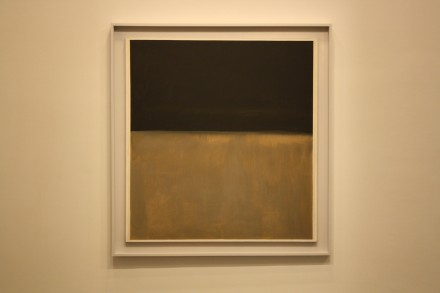 Mark Rothko, Untitled (Black on Gray) (1969-70), via Ben Richards for Art Observed