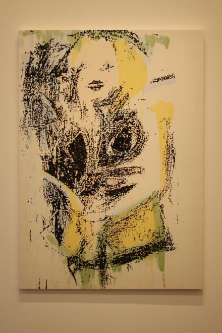 Nate Lowman, Trash Landing Marilyn #12, (2011), via Ben Richards for Art Observed