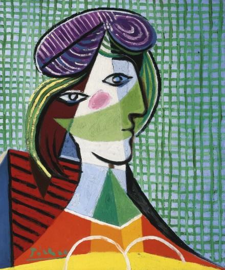 Pablo PIcasso, Tête de Femme (1935), via Sotheby's