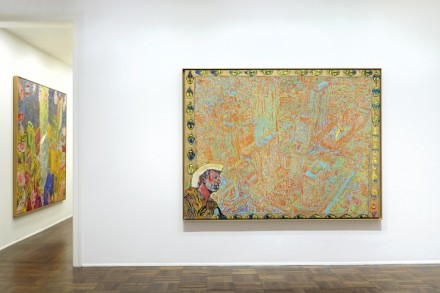 Peter Doig, Early Works (Installation View), via Michael Werner