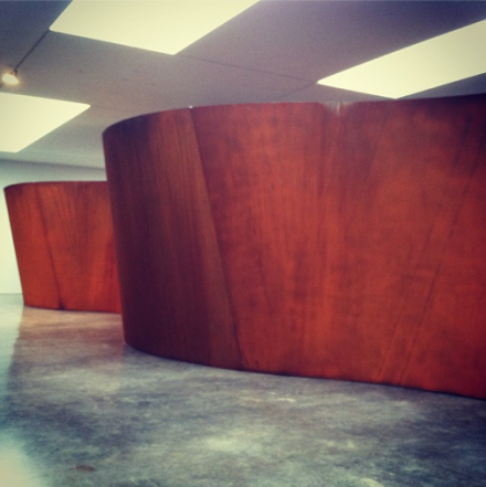 Richard Serra, Inside Out (2013), via Daniel Creahan for Art Observed