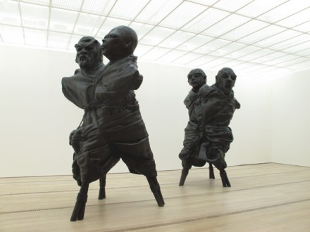 Thomas Schütte, United Enemies (2011), courtesy Fondation Beyeler