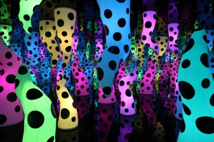 Yayoi, Kusama, Love is Calling (2013), via David Zwirner