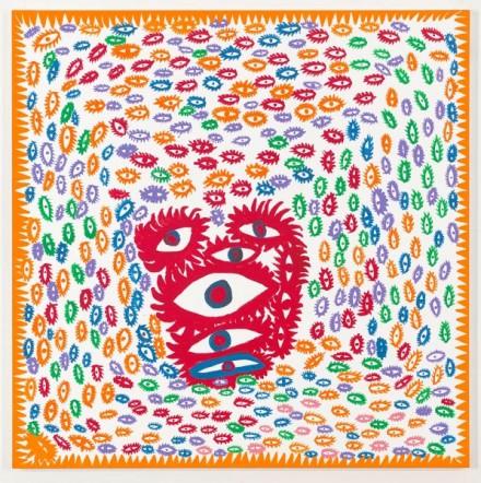 Yayoi, Kusama, My Heart (2013), via David Zwirner