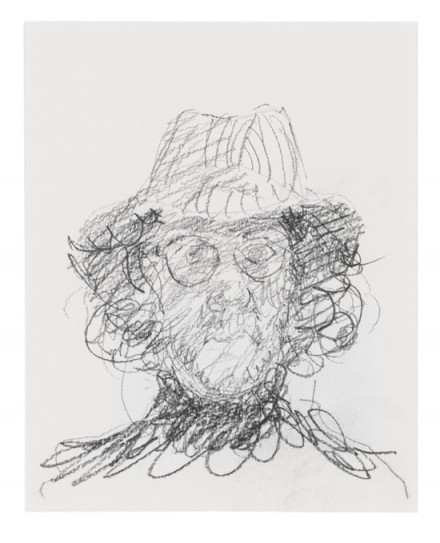 Martin Creed, Work No. 1690: Self-portrait (2013), Courtesy Hauser & Wirth and Gavin Brown's Enterprise