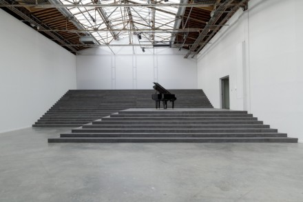 "Philippe Parreno, ""ANYWHERE, ANYWHERE OUT OF THE WORLD"" (Installation View) Courtesy Palais de Tokyo"