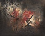 """Abstraction"" by Zao Wou-ki, via Bloomberg"