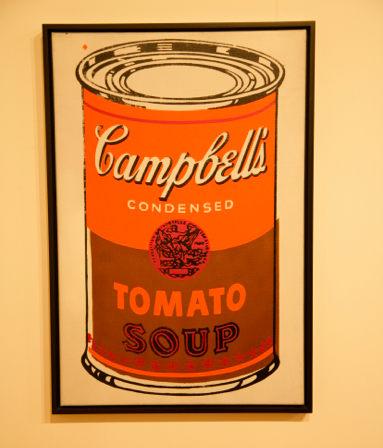 Andy Warhol, Campbell's Soup Can, via Christian Coleman for Art Observed