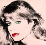 Andy Warhol's Portrait of Farrah Fawcett, via NY Daily News