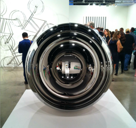 Anish Kapoor at Lisson Gallery, via Daniel Creahan for Art Observed