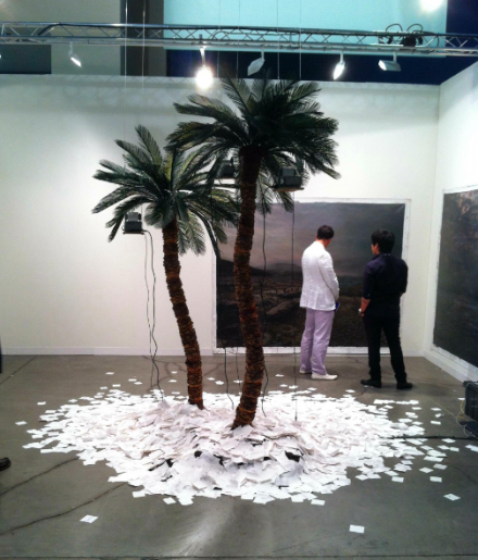 Art Basel, Installation View, via Daniel Creahan for Art Observed