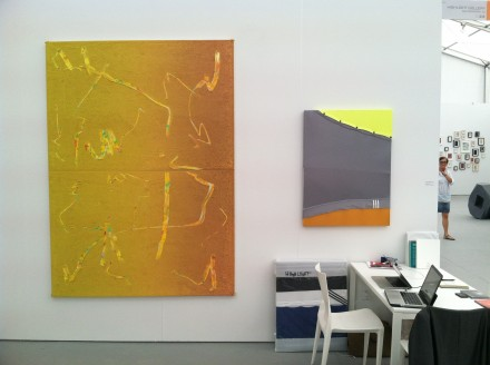 Ben Baretto at Highlight Gallery, via Daniel Creahan for Art Observed
