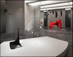Calder and Abstraction - From Avant-Garde to Iconic_Alexander Calder_LACMA_installation view1
